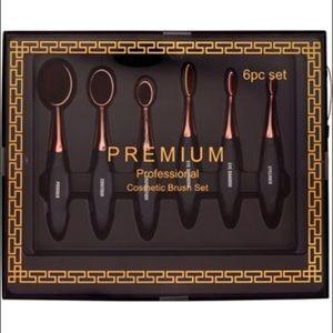 New Premium 6pc brush set